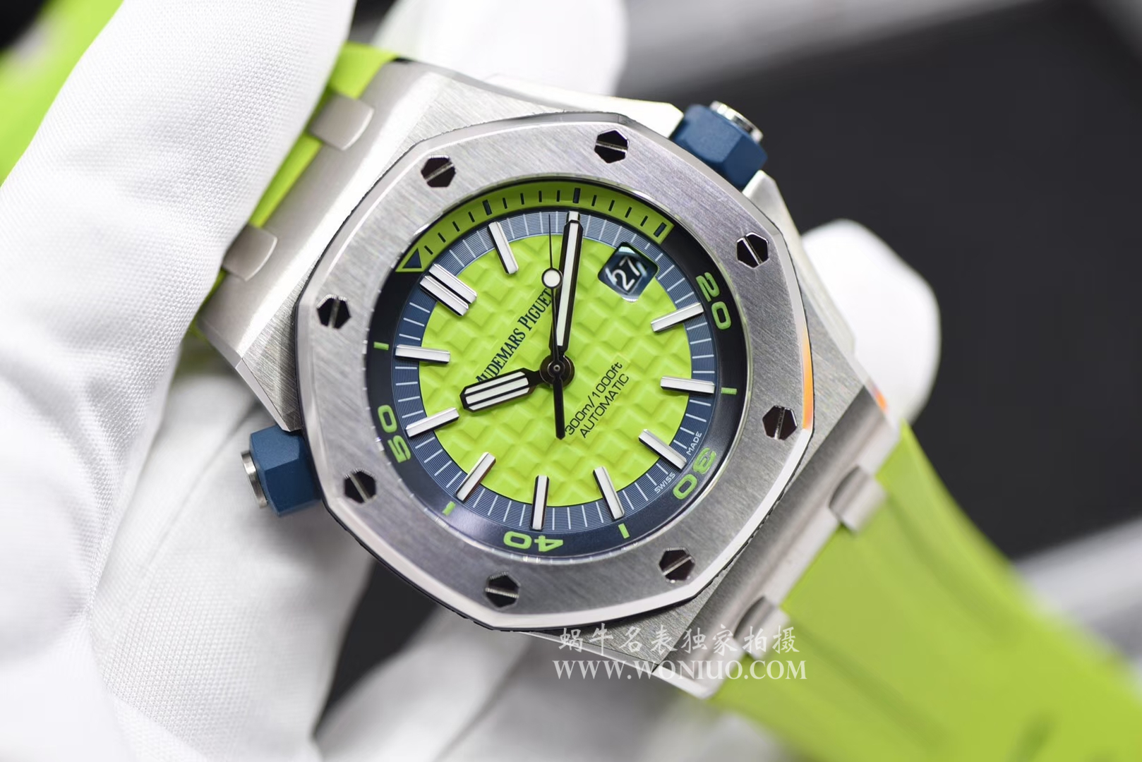 【JF厂1:1精仿手表】爱彼皇家橡树离岸型系列15710ST.OO.A038CA.01腕表