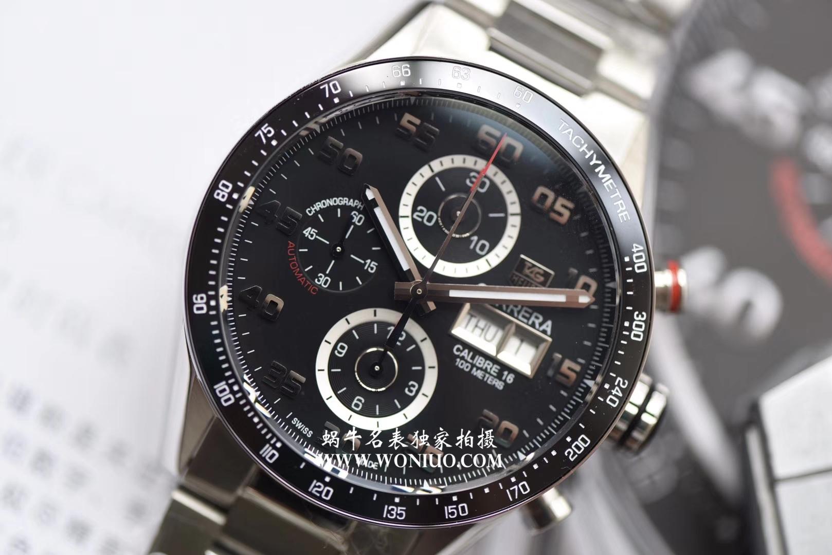 泰格豪雅卡莱拉星期日历型计时腕表 官方型号:CV2A1S.BA0799