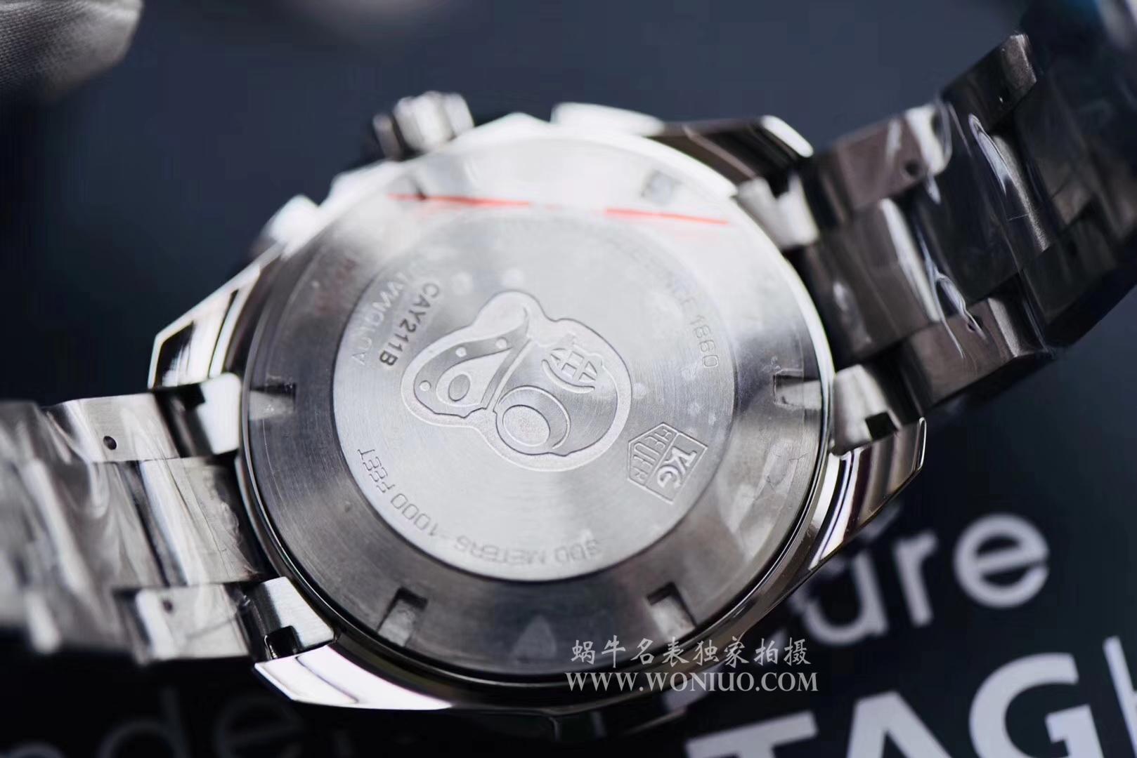 原单正品泰格豪雅竞潜系列原单计时机械表 / TG034