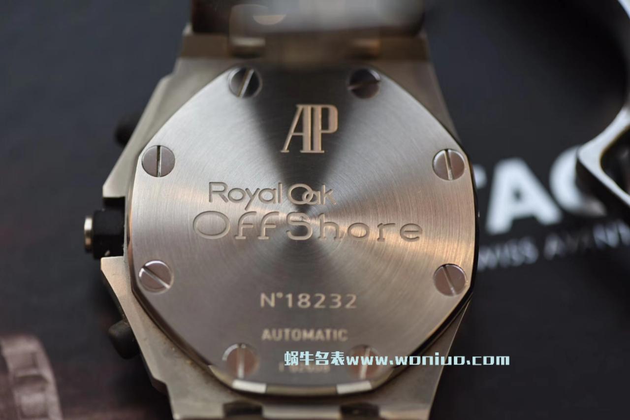 【JF厂1:1复刻精仿手表】爱彼皇家橡树离岸型系列沙漠26170ST.OO.D091CR.01腕表 / AP084A
