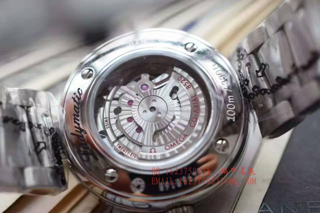 【视频解析】HBBV6厂欧米茄碟飞系列 鸟巢款 425.30.34.20.55.001 女士机械腕表