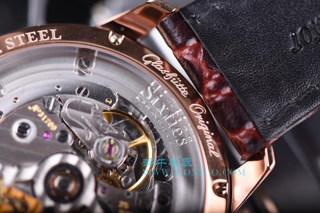 【YL厂顶级复刻手表】格拉苏蒂原创20世纪复古系列1-39-52-01-01-04腕表 / GLA024