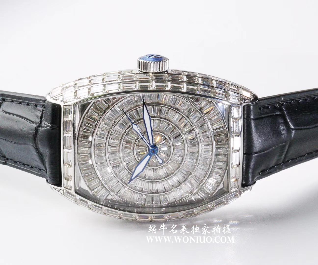 【DM厂顶级复刻手表】原版复刻 FM法兰克穆勒GRAND COMPLICATIONS系列8889 奢华版全方钻新款上市 / 法穆兰FL06
