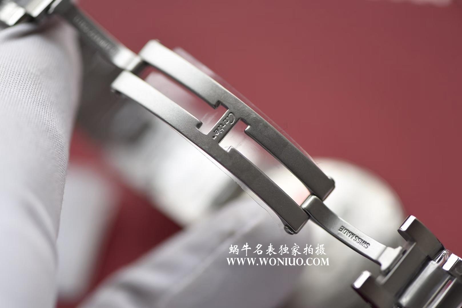 最高版本V6厂卡地亚蓝气球33mm贝壳面石英款认准V6独家对版瑞士157机芯 / K148