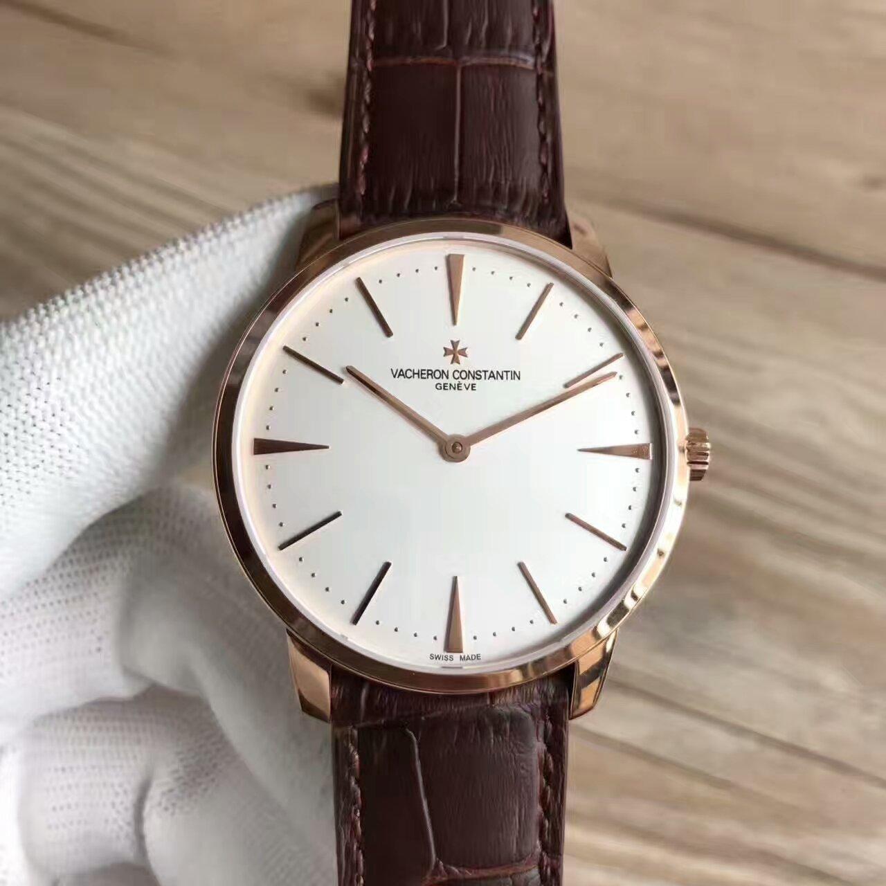【台湾厂一比一超A精仿手表】江诗丹顿传承系列81180/000R-9159腕表
