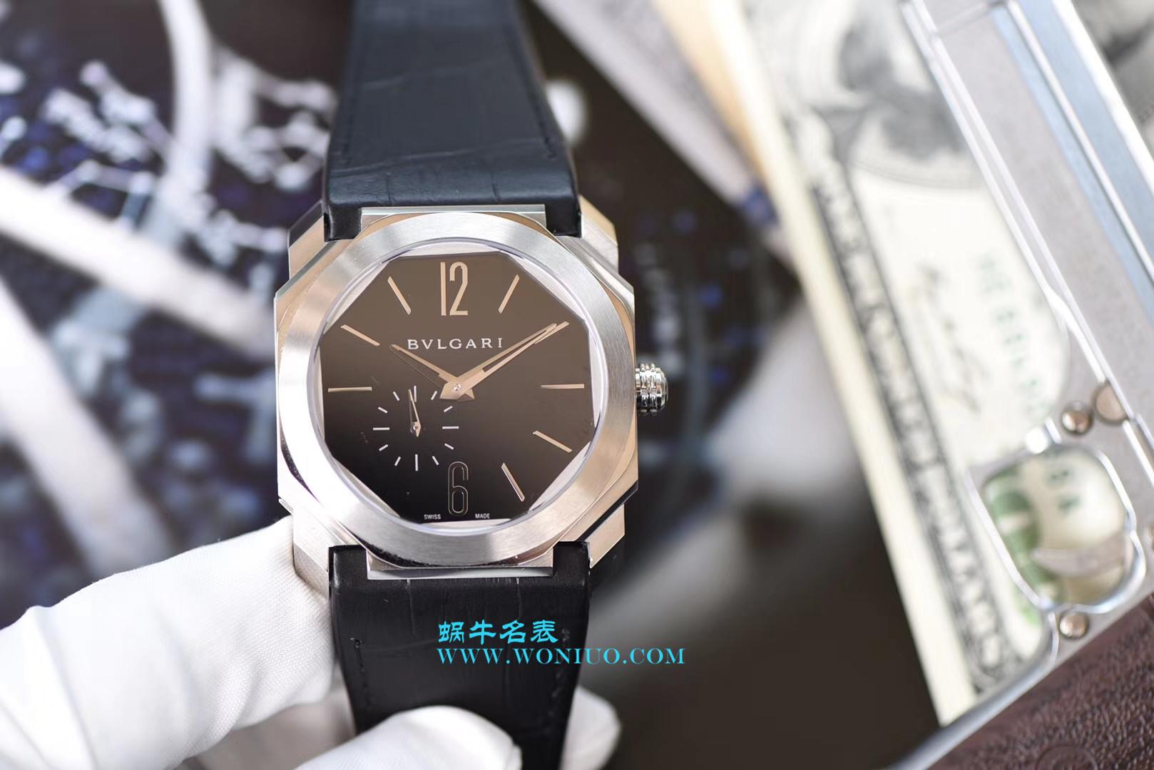 【台湾厂顶级复刻手表】宝格丽OCTO系列102028 BGO40BPLXT腕表 / BZ017
