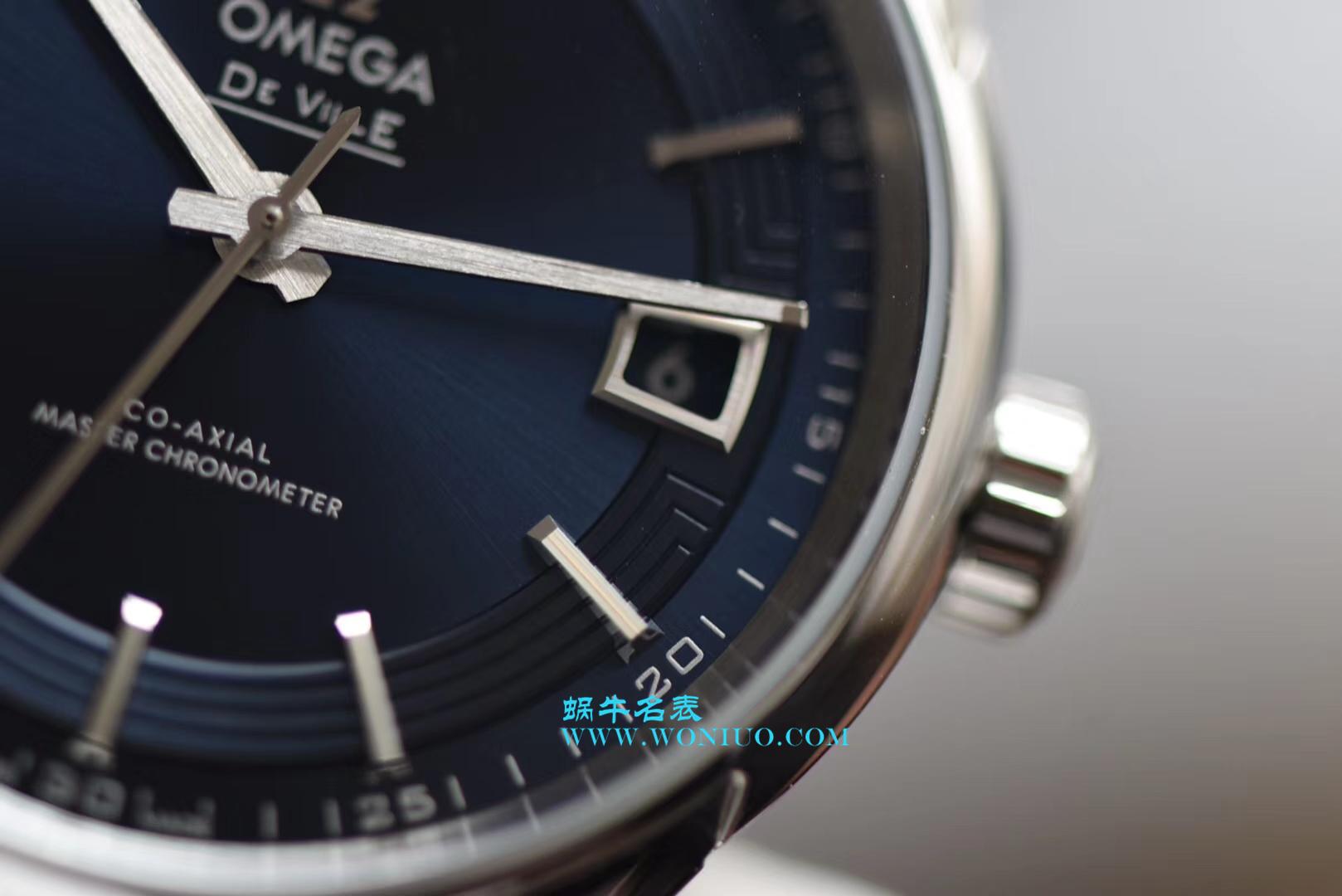 【3S一比一超A高仿手表】欧米茄碟飞HOUR VISION腕表系列433.33.41.21.03.001腕表(明亮之蓝)  / M316
