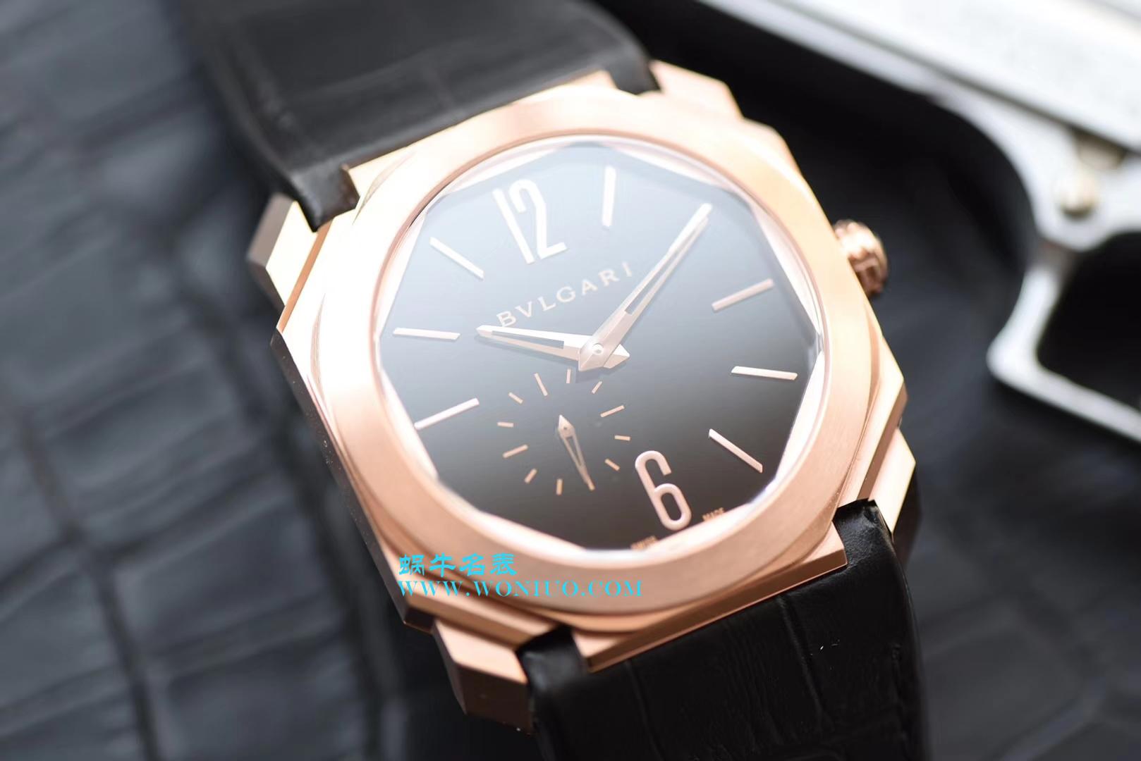 【台湾一比一超A精仿手表】宝格丽OCTO系列102371 BGOP40BGLXT腕表 / BGB0018