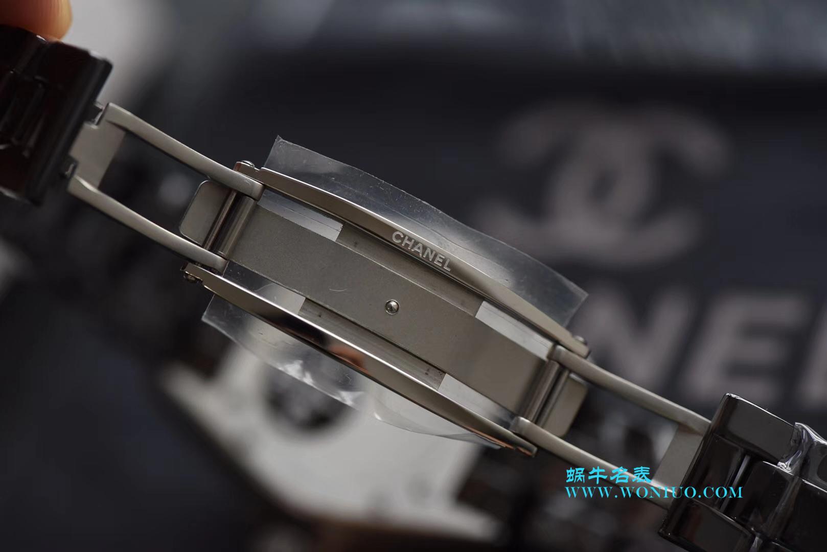 KOR韩版 香奈儿 J12香奈儿INTENSE 重置加强版女士石英黑面腕表