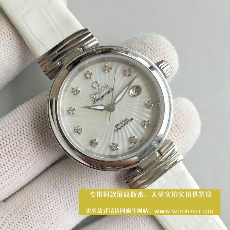 【V6厂1:1超A高仿手表】欧米茄碟飞系列425.33.34.20.55.001 女士腕表《欧米茄鸟巢》