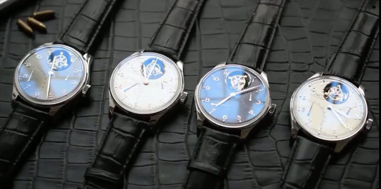 【独家视频测评YL厂顶级复刻手表】万国葡萄牙系列逆跳陀飞轮IW504401腕表 / WG104A