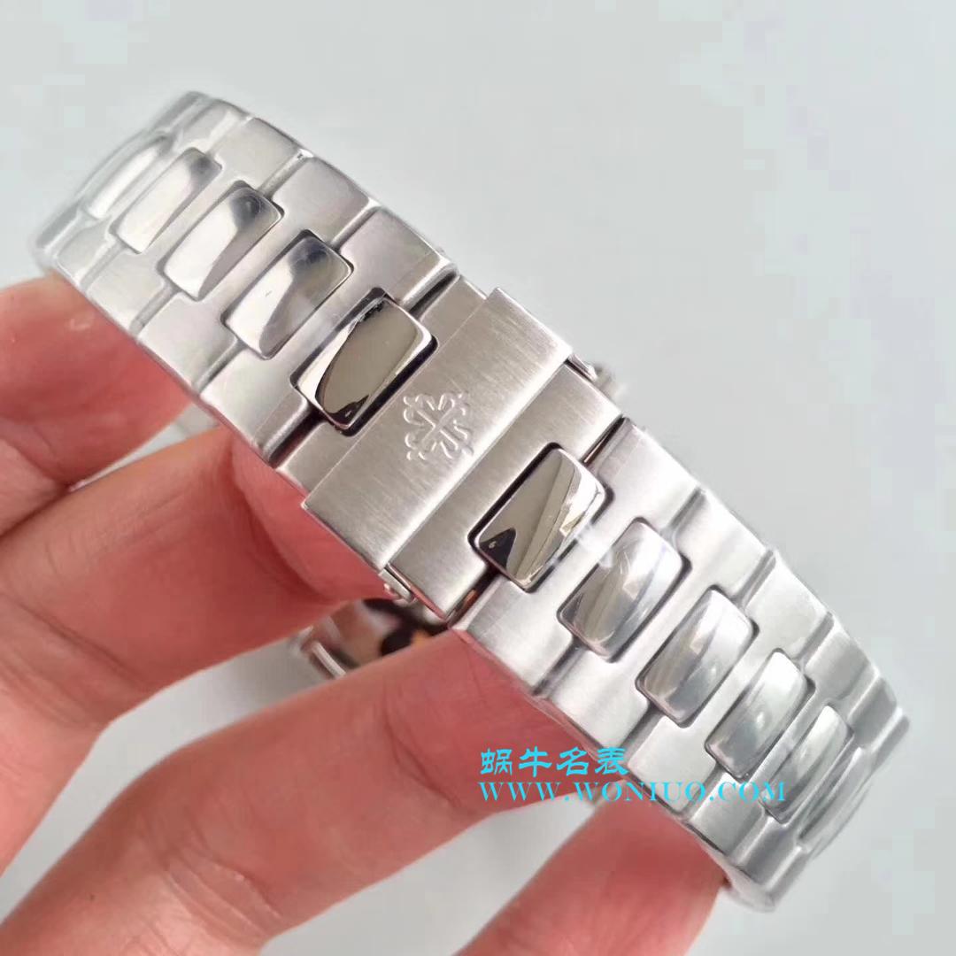 【KM一比一超A高精仿手表】百达翡丽运动系列鹦鹉螺月相5726/1A腕表