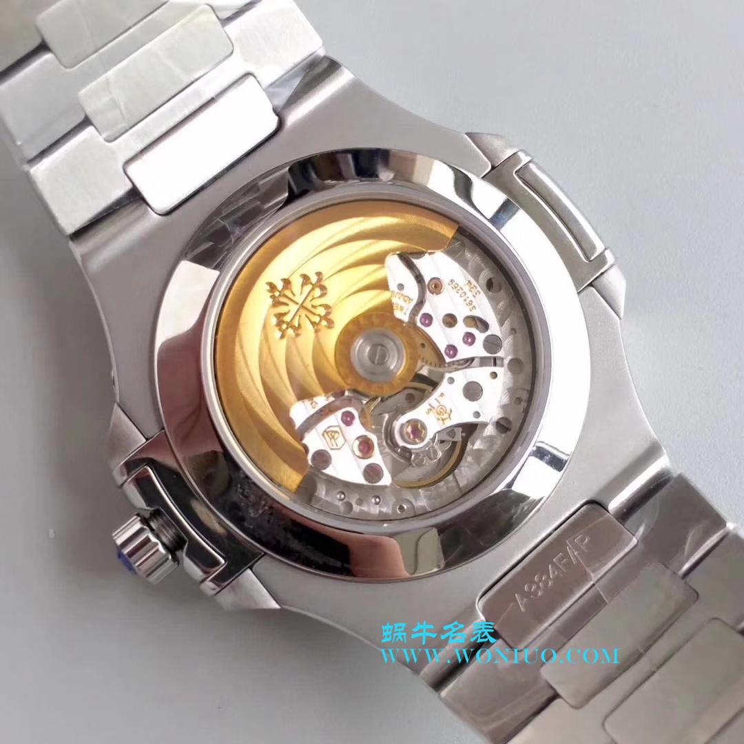 【KM厂一比一复刻手表】百达翡丽Nautilus系列精钢男表5726A-001 / BD204