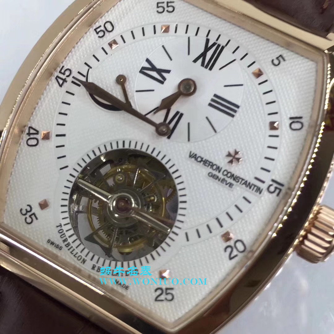 【TF厂一比一超A精仿手表】江诗丹顿马耳他系列30080/000R-9257单日历手动上链陀飞轮腕表