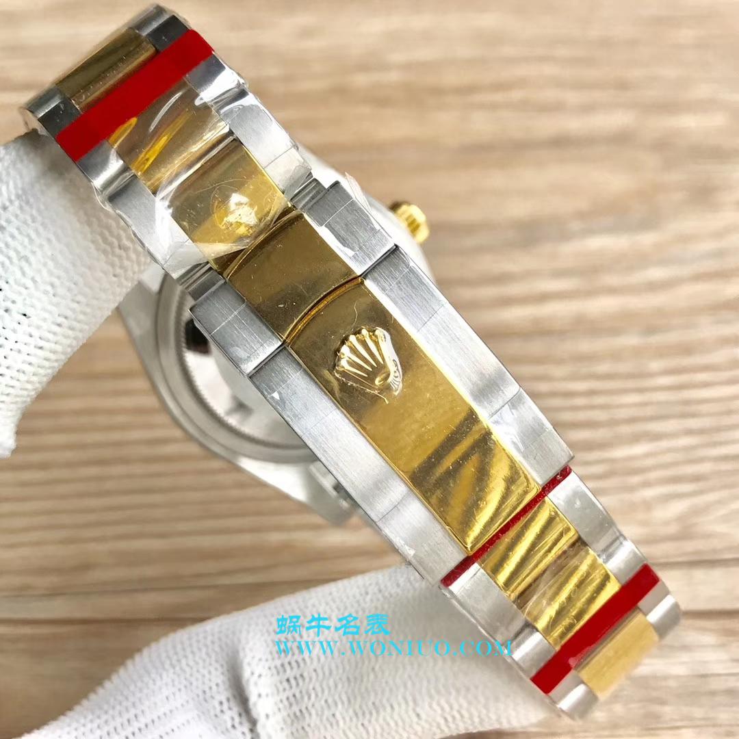 【DJ一比一超高仿手表】劳力士36日志型系列116233、116203、116233黑盘镶钻蚝式表带腕表 / R069
