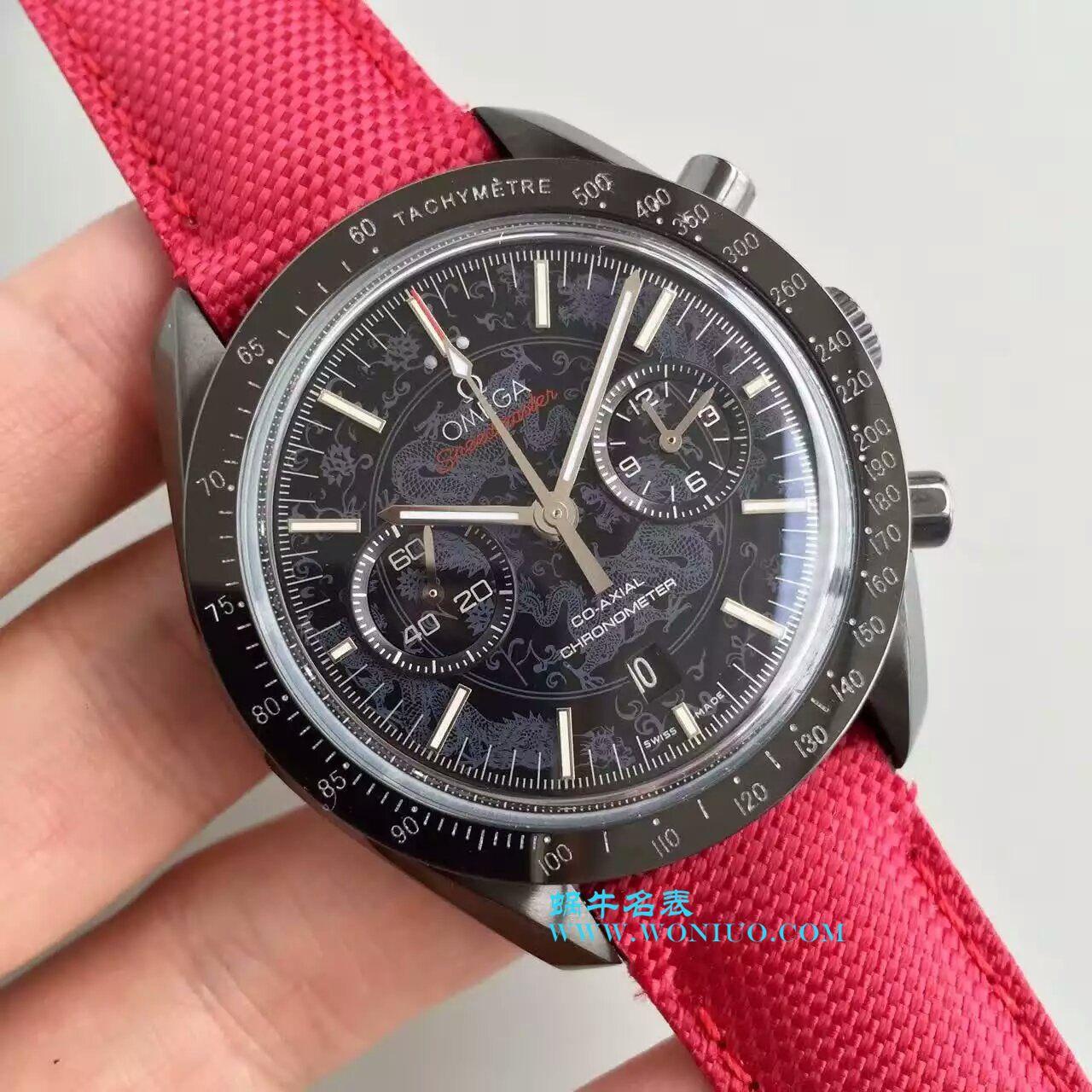 【JH厂1:1顶级复刻手表】欧米茄超霸  月球表系列311.92.44.51.01.007 月之暗面机械腕表 / M009