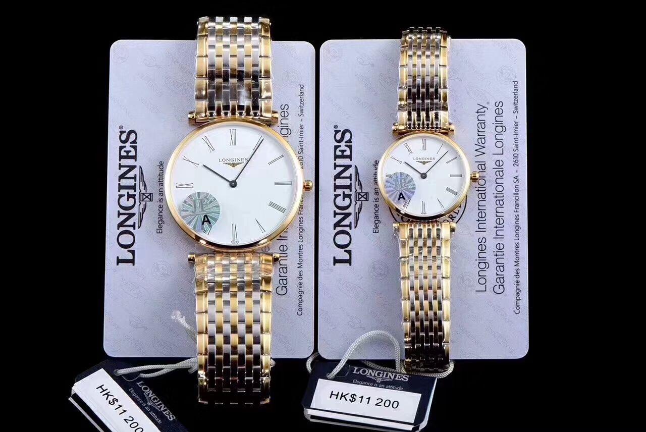 【MK厂一比一超A精仿手表】浪琴优雅系列L4.209.2.12.7女士腕表