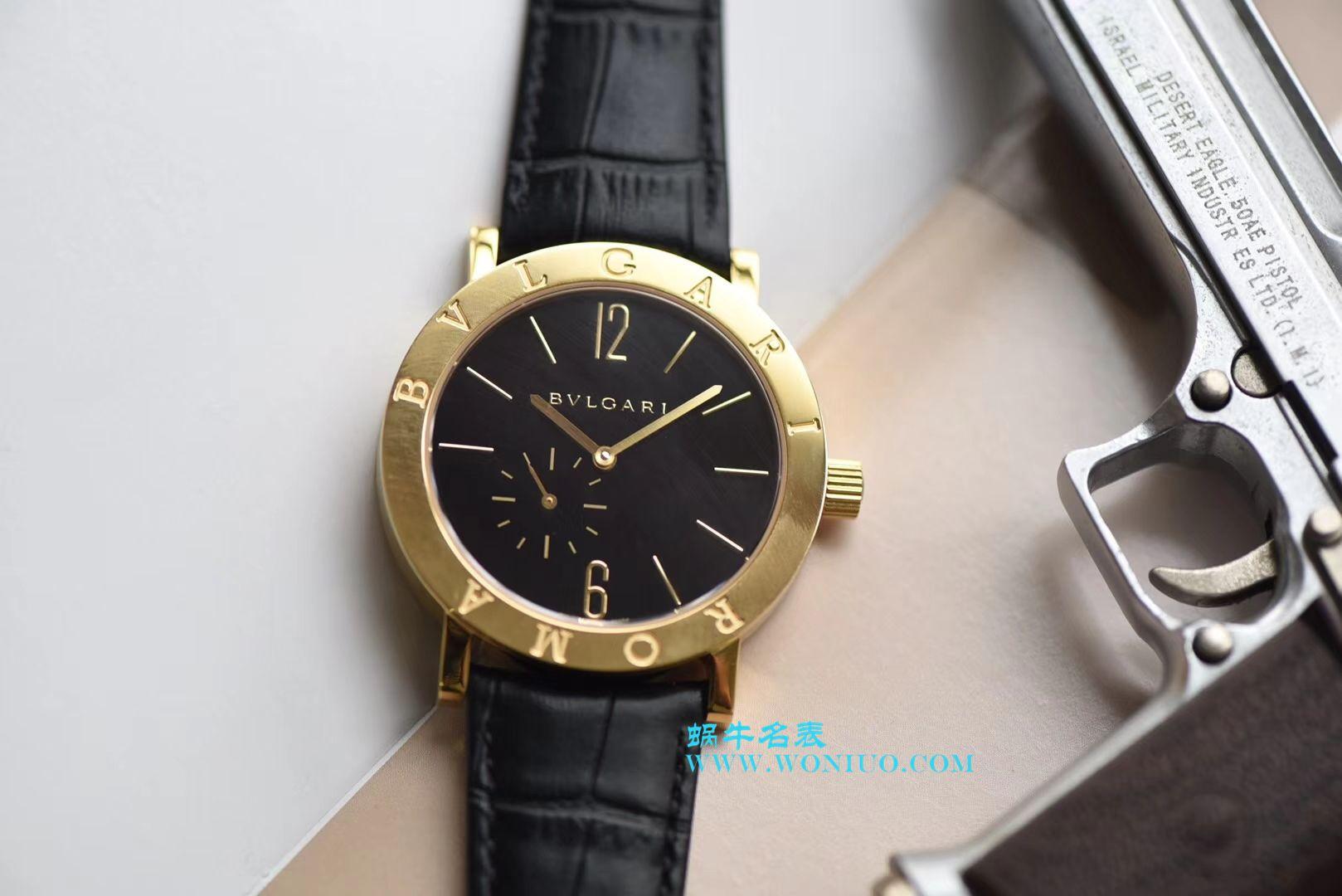 【台湾厂一比一超A高仿手表】宝格丽BVLGARI∙BVLGARI系列102359 BB41BGLXT腕表 / BZ019