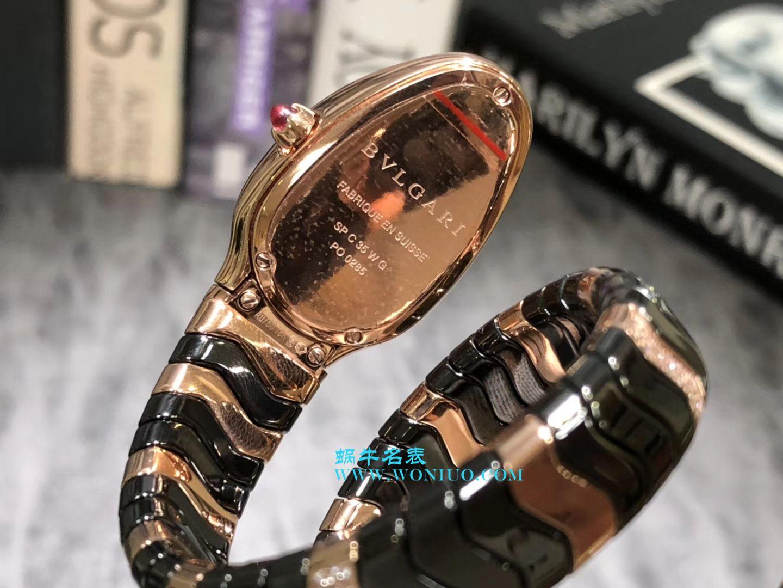 宝格丽Serpenti Spiga系列腕表集女性制表工艺之大成蛇形腕表