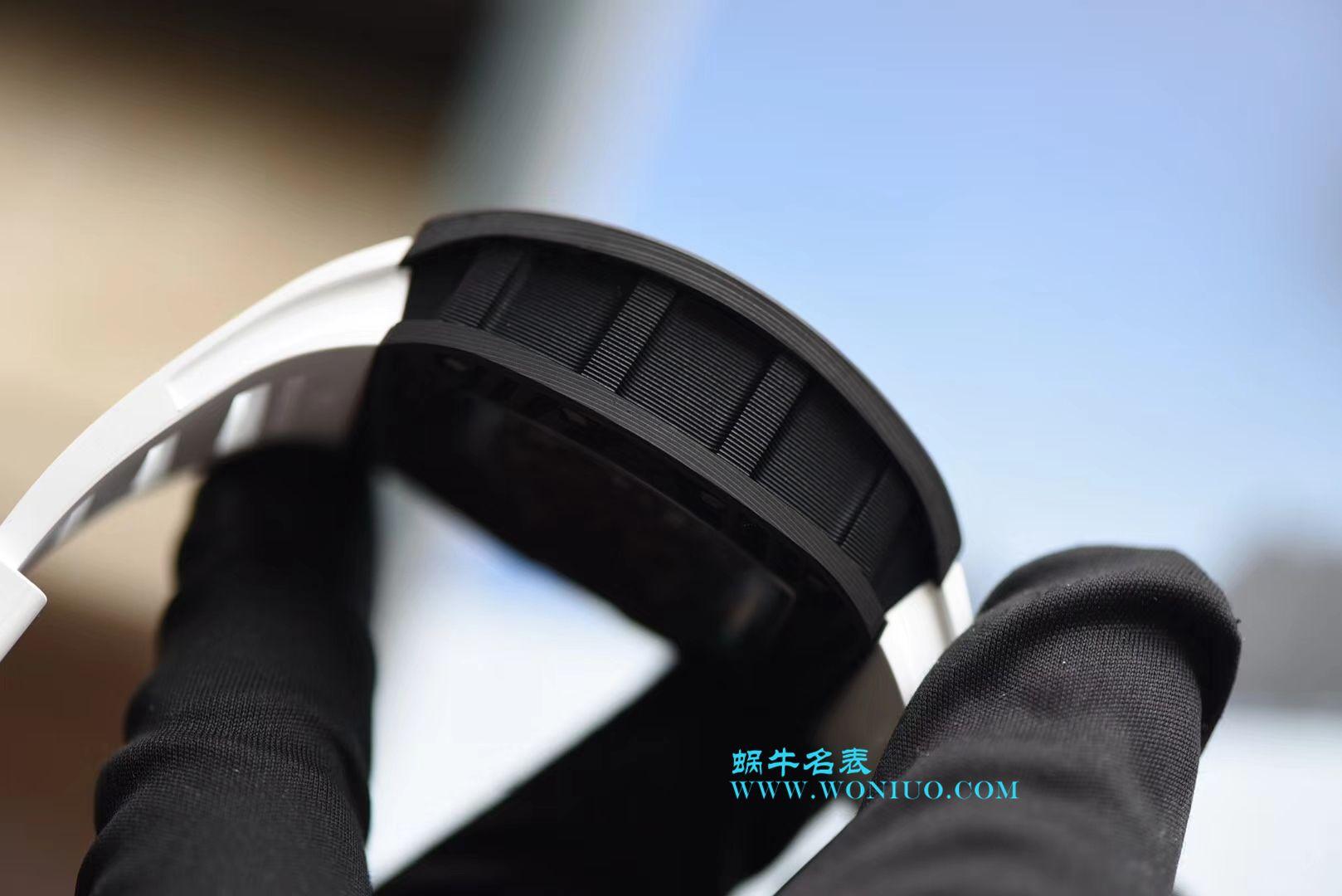 【KV一比一超A高仿手表】理查德米尔RICHARDMILLE 最强版RM055巴巴沃森.蒂芙尼蓝阿布扎比赛道特别纪念版 / RM 055G