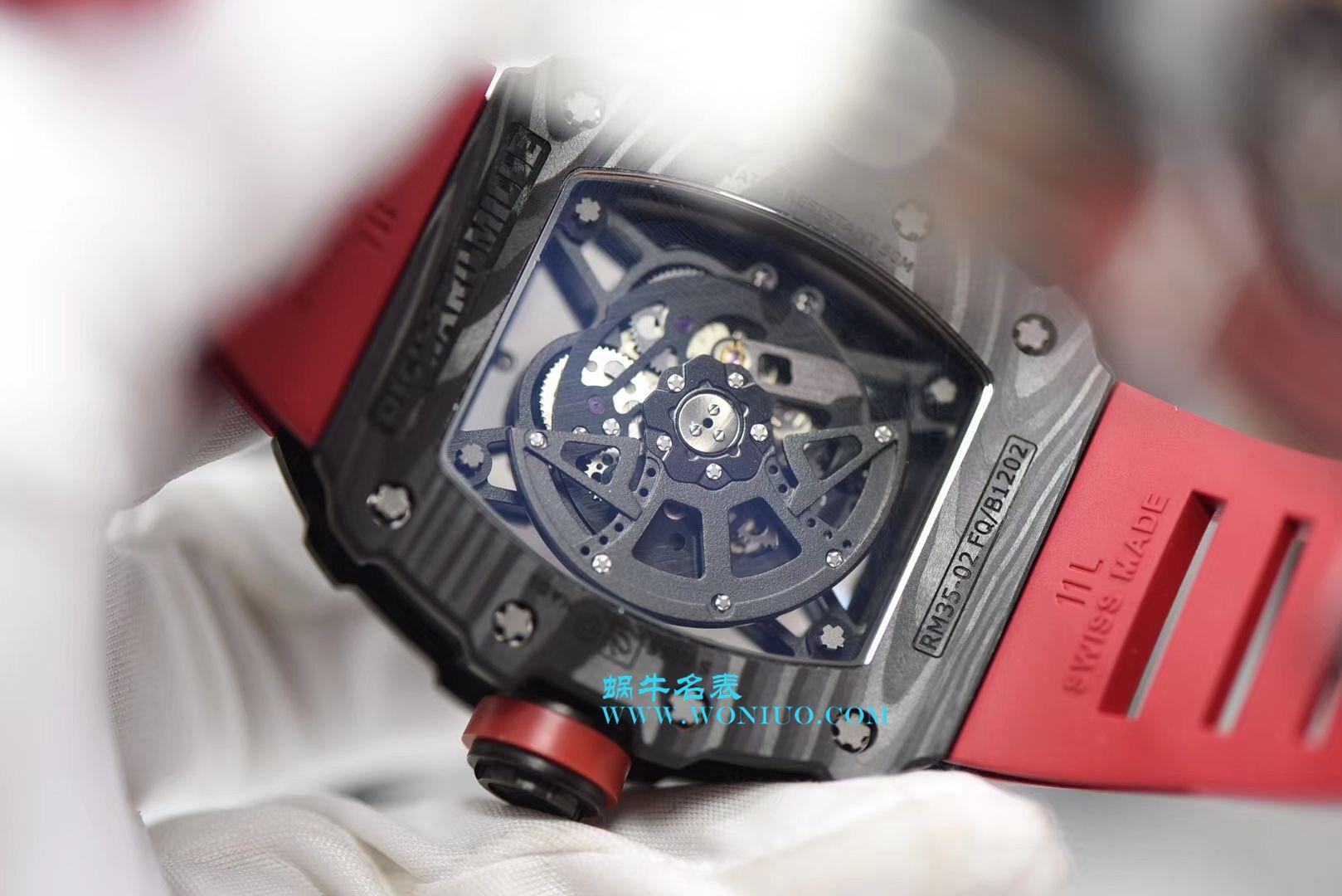 【KV厂顶级复刻手表】RICHARD MILLE里查德米尔男士系列RM 35-02 RAFAEL NADAL腕表 / RM 35-2AAA