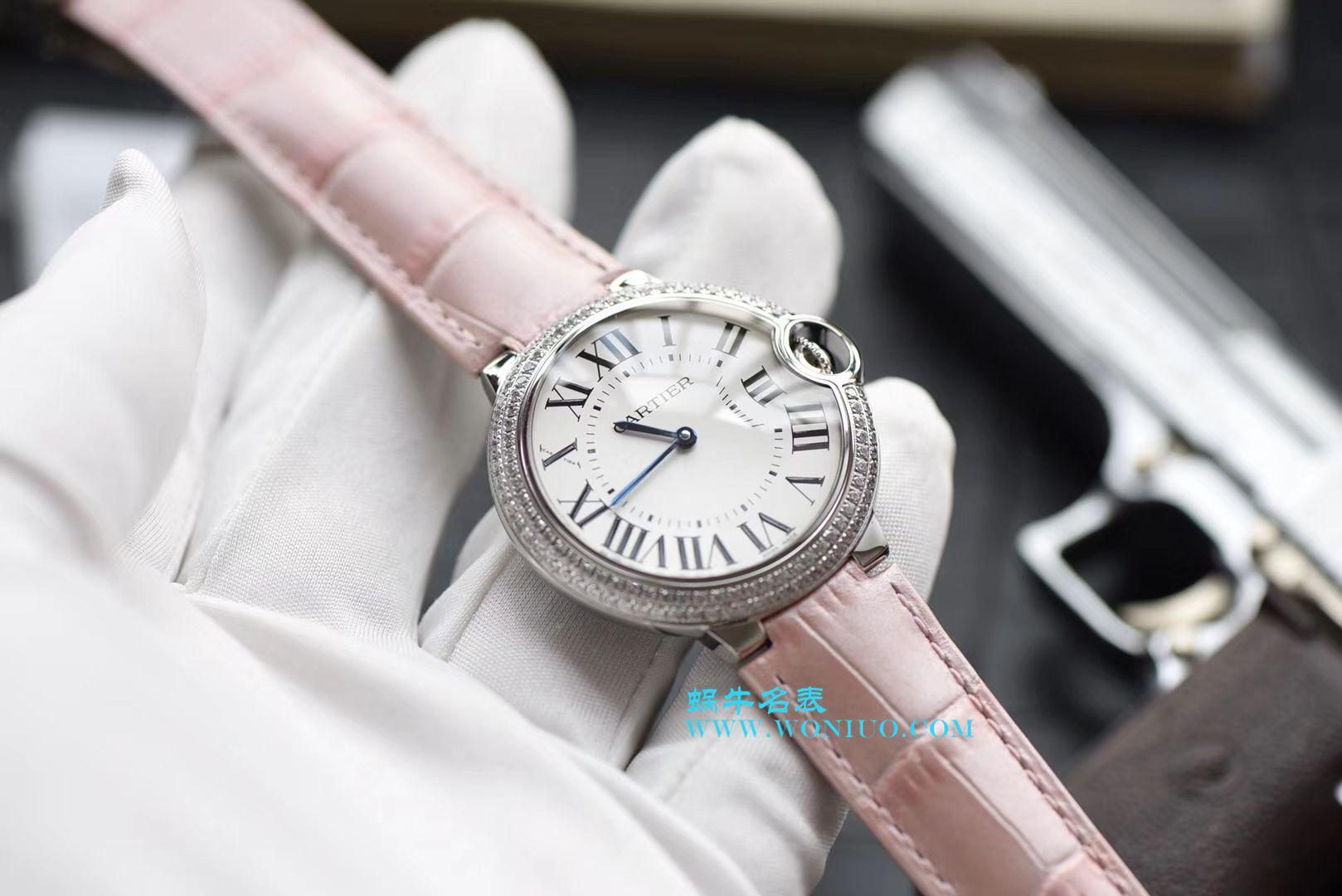 【HBBV6一比一超A高仿手表】卡地亚蓝气球系列WE900651女装36毫米石英腕表 / K150