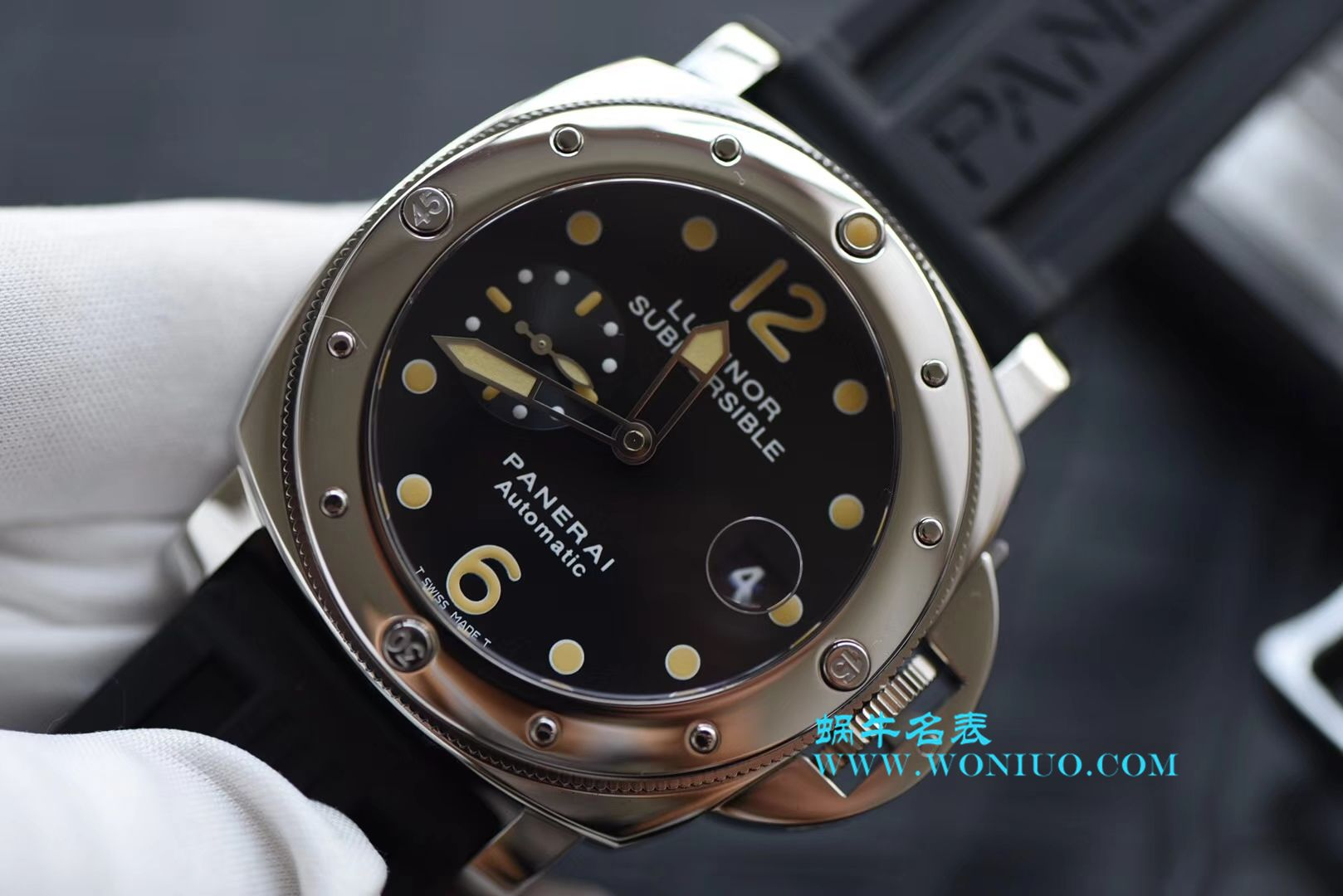 【XF厂顶级复刻手表】Panerai沛纳海LUMINOR系列PAM 00024腕表V2升级版 / PAM00024