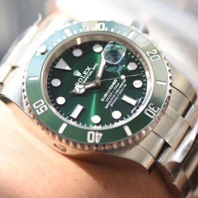 【NOOB厂V8版本一比一超A高仿手表】劳力士潜航者型系列116610LV-97200 绿水鬼腕表