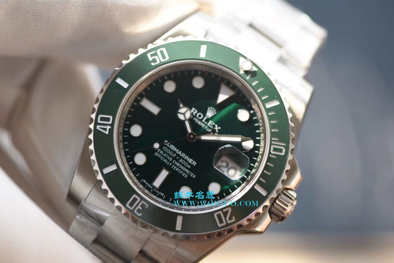【NOOB厂V8版本顶级复刻手表】劳力士潜航者型系列116610LV-97200 绿水鬼腕表 / R213