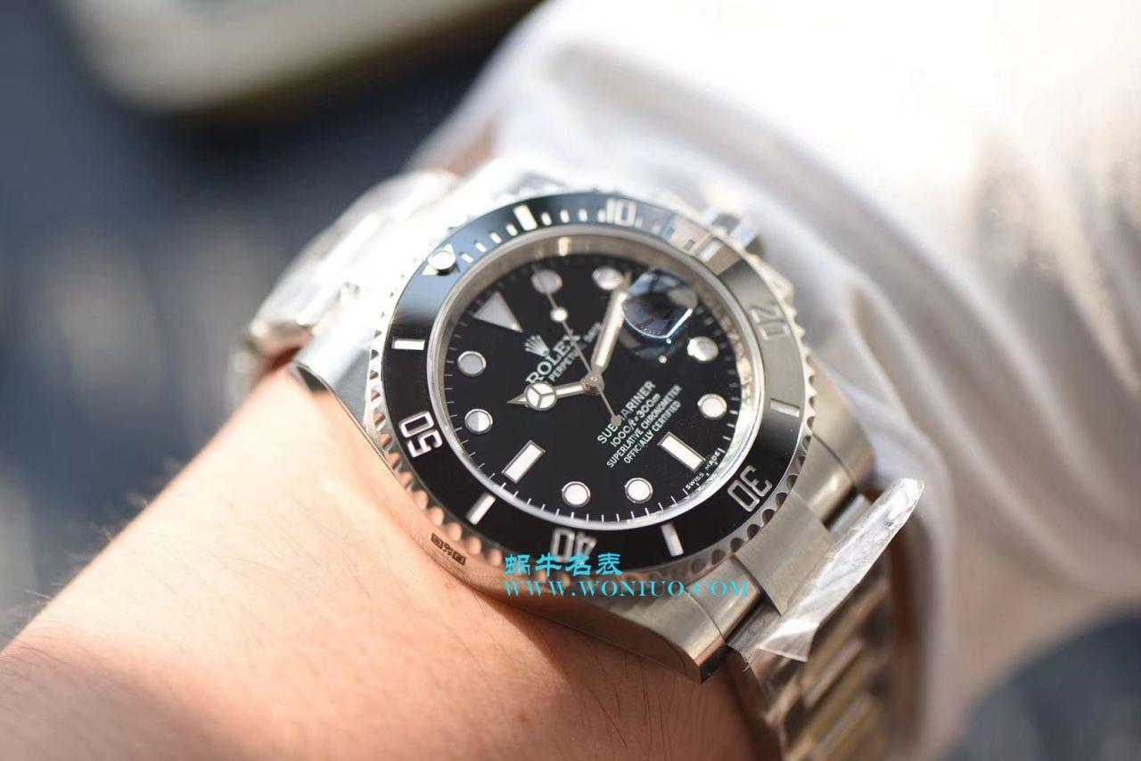 【NOOB厂V8版本一比一超A高仿手表】劳力士潜航者型系列116610LN-97200黑水鬼腕表 / R214