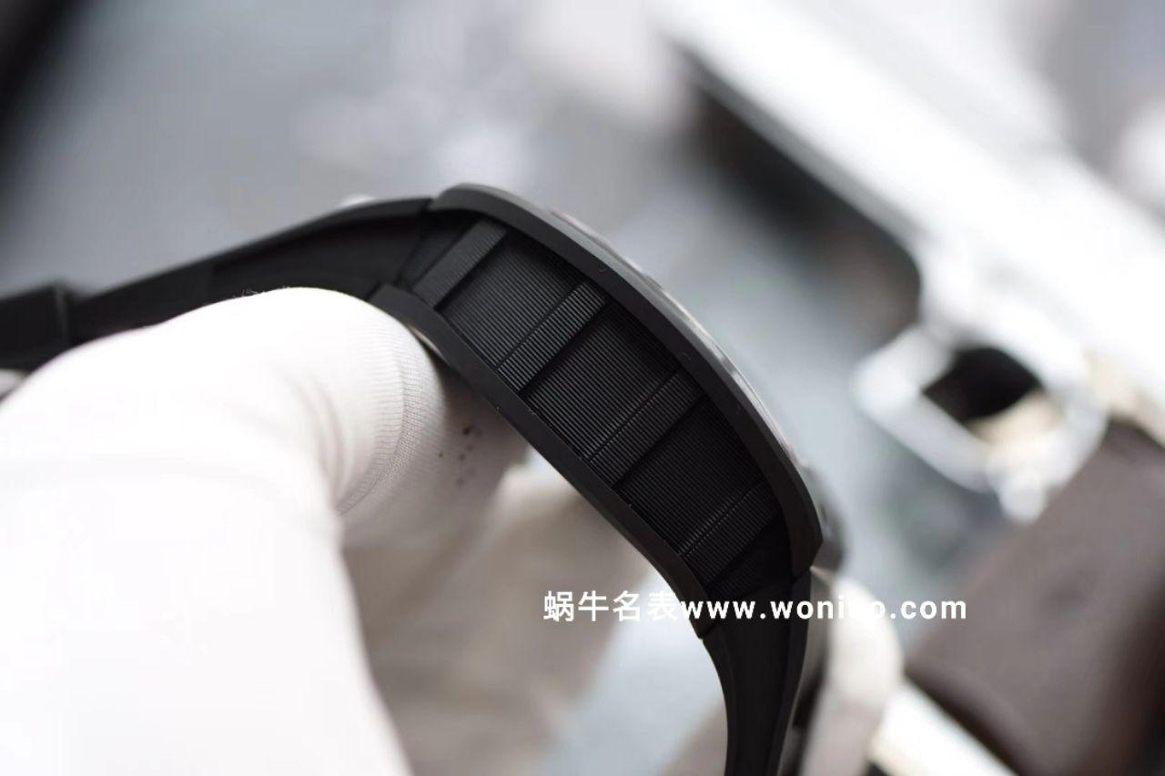 理查德米尔最新RM011-KV出品 真陶瓷顶级壳套 细节讲究 最高版本 / KVRM011BLACK