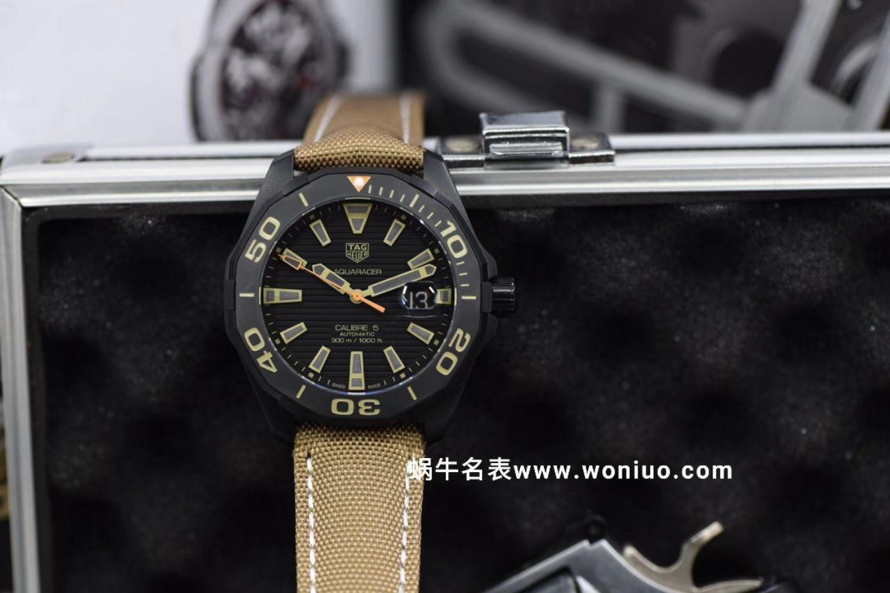V6厂顶级版本新品~豪雅竟潜43mm黑壳 同步专柜最新款  / TG059