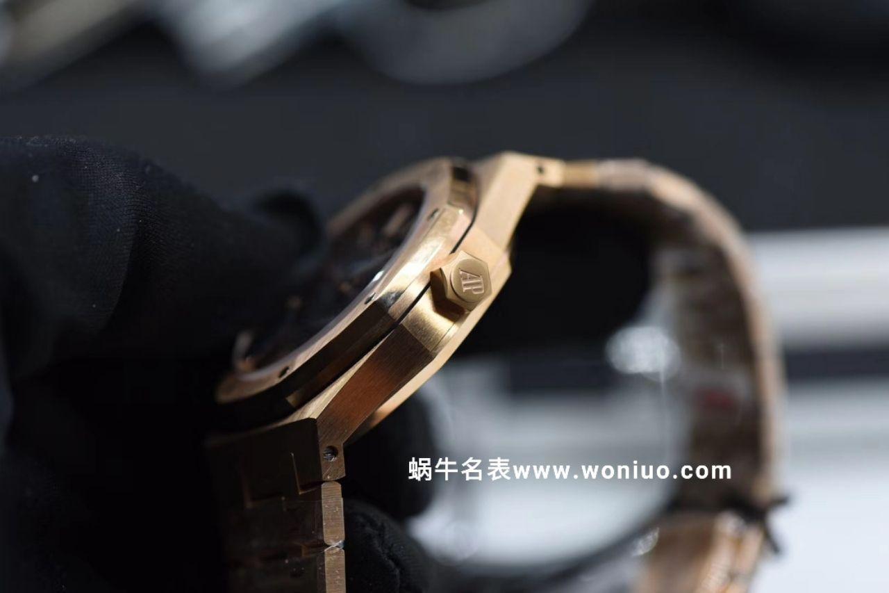 JF厂最高版本AP皇家橡树女装机械款15450 全玫瑰金黑面款 / AP133
