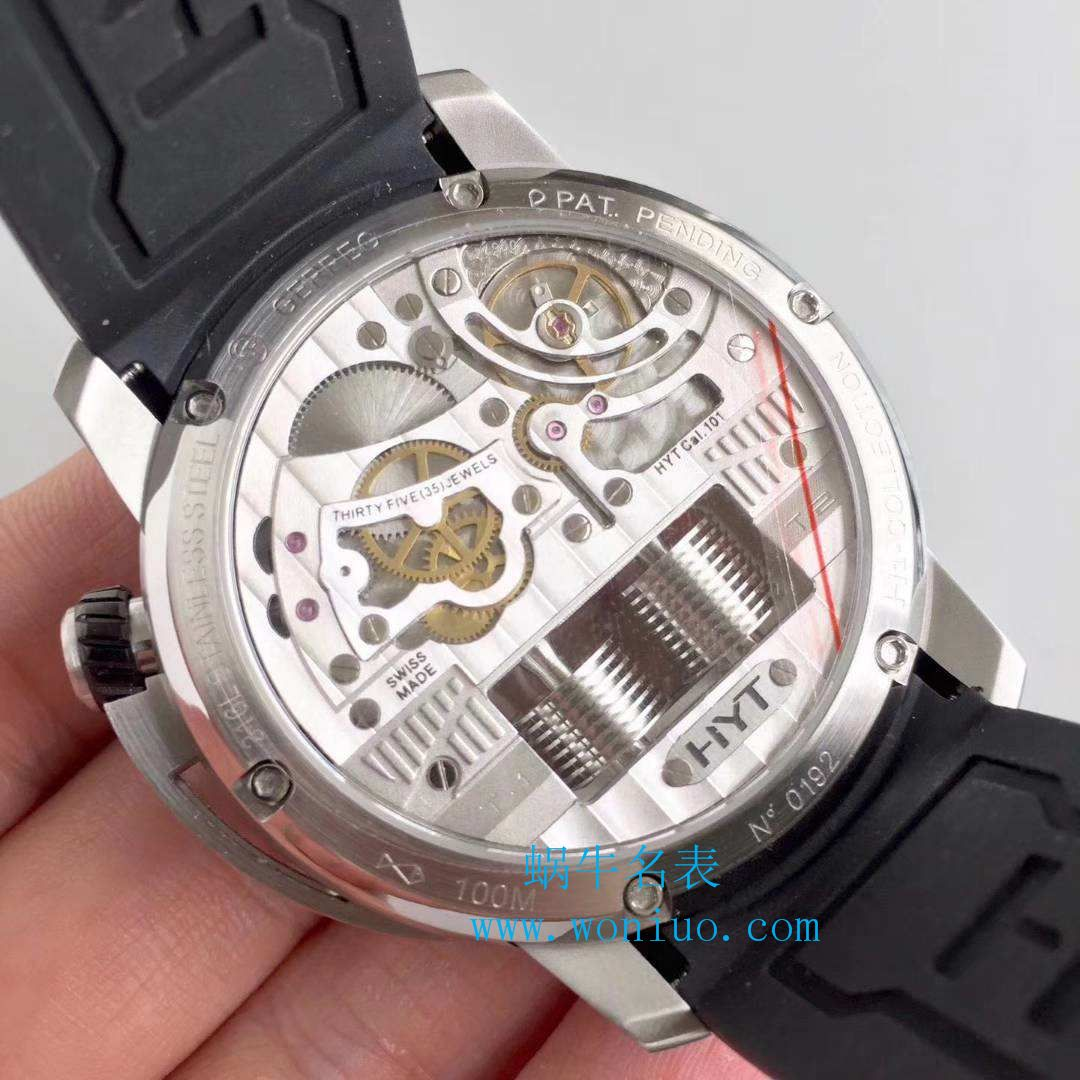 【CY】製品又一巅峰巨作-【HYT】液压机械全自动手表!