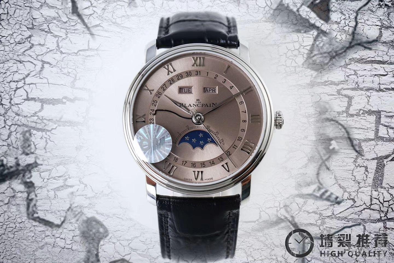 【视频评测OM1:1超A精仿手表】宝珀经典系列 6654-1127-55B腕表