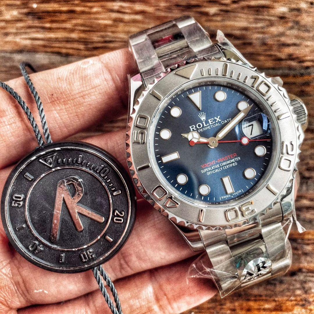 【AR厂顶级复刻手表】劳力士游艇名仕型系列268622腕表中性36毫米男女 / R205
