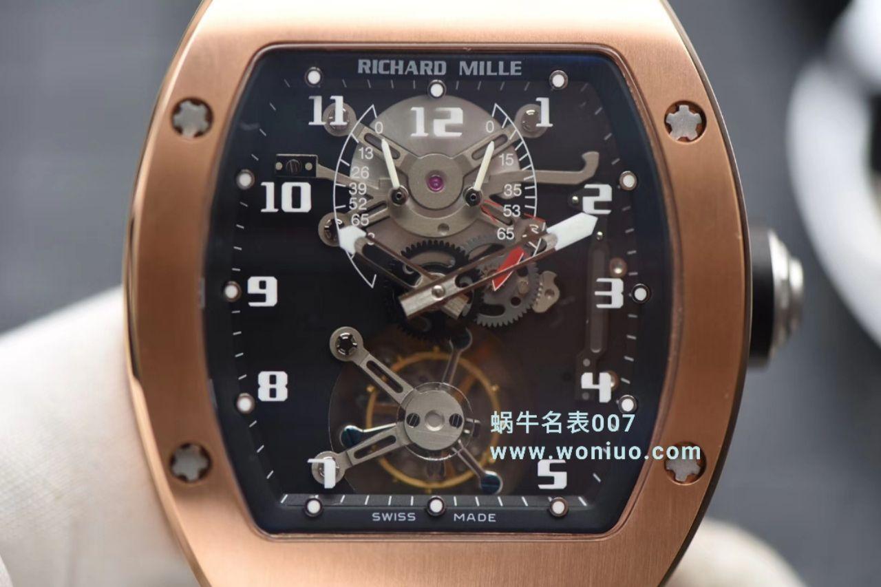 ️JB理查德·米勒RICHARD MILLE RM001真陀飞轮腕表 / RM 001