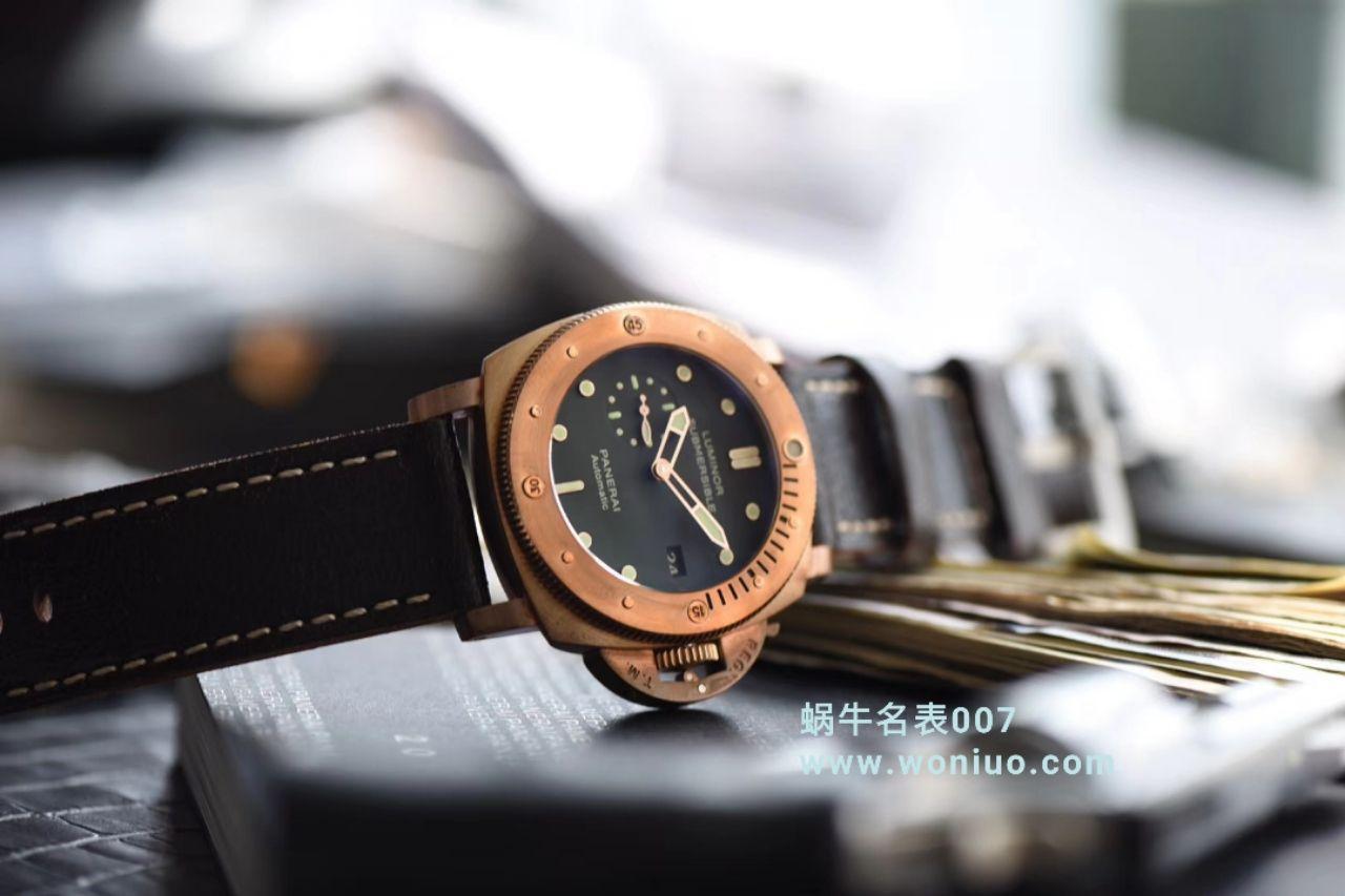 【独家视频测评VS厂顶级1:1精仿手表】沛纳海沛纳海首款青铜战士史泰龙电影同款PAM 00382腕表