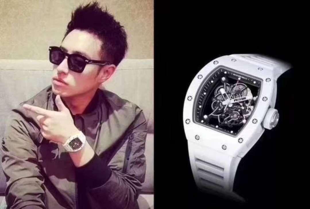 【KV厂顶级复刻手表】RICHARD MILLE里查德米尔男士系列RM 055腕表 / RM 055E