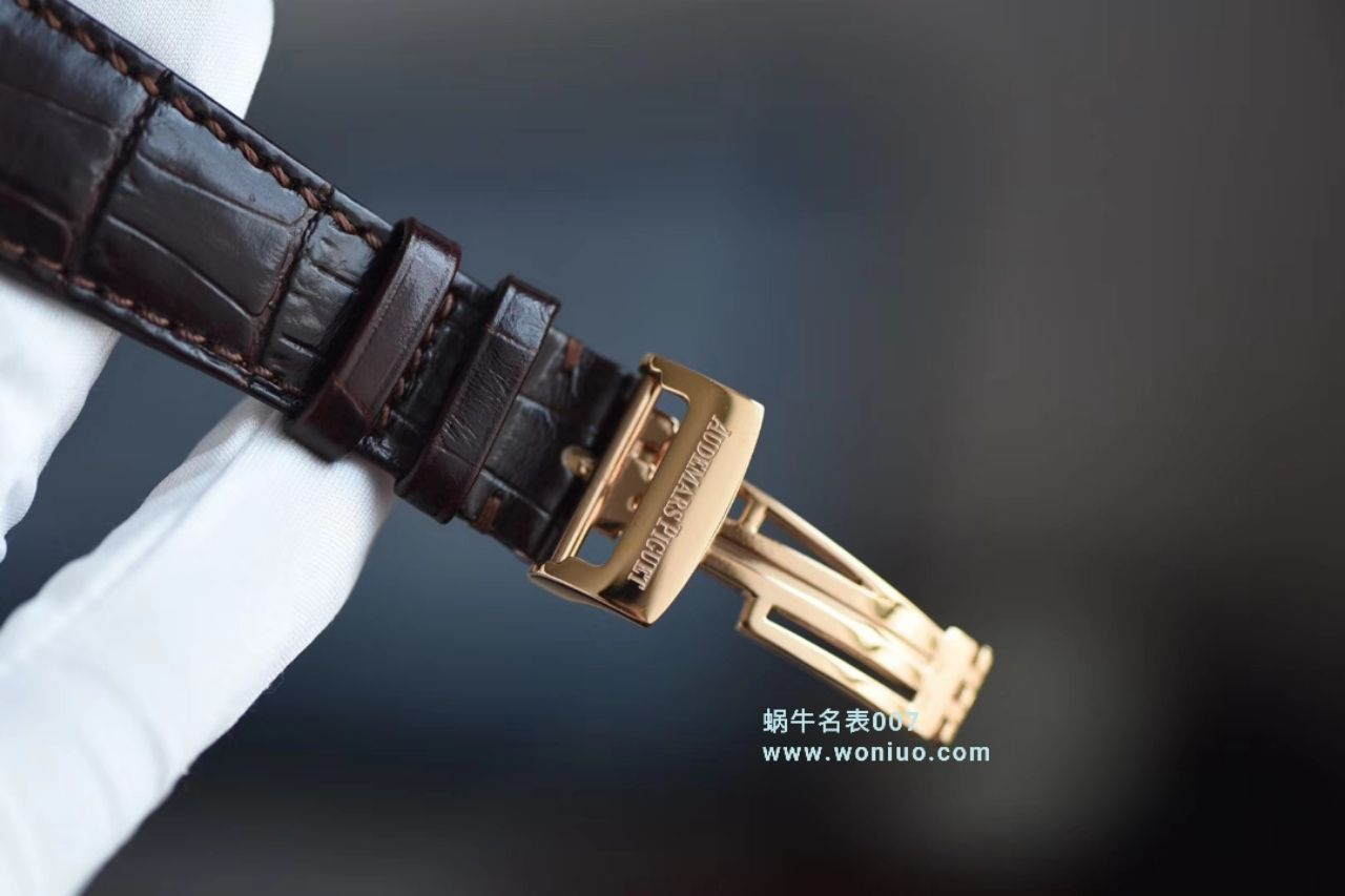 【V9一比一超A高仿手表】爱彼千禧系列15350OR.OO.D093CR.01、15350ST.OO.D002CR.01腕表