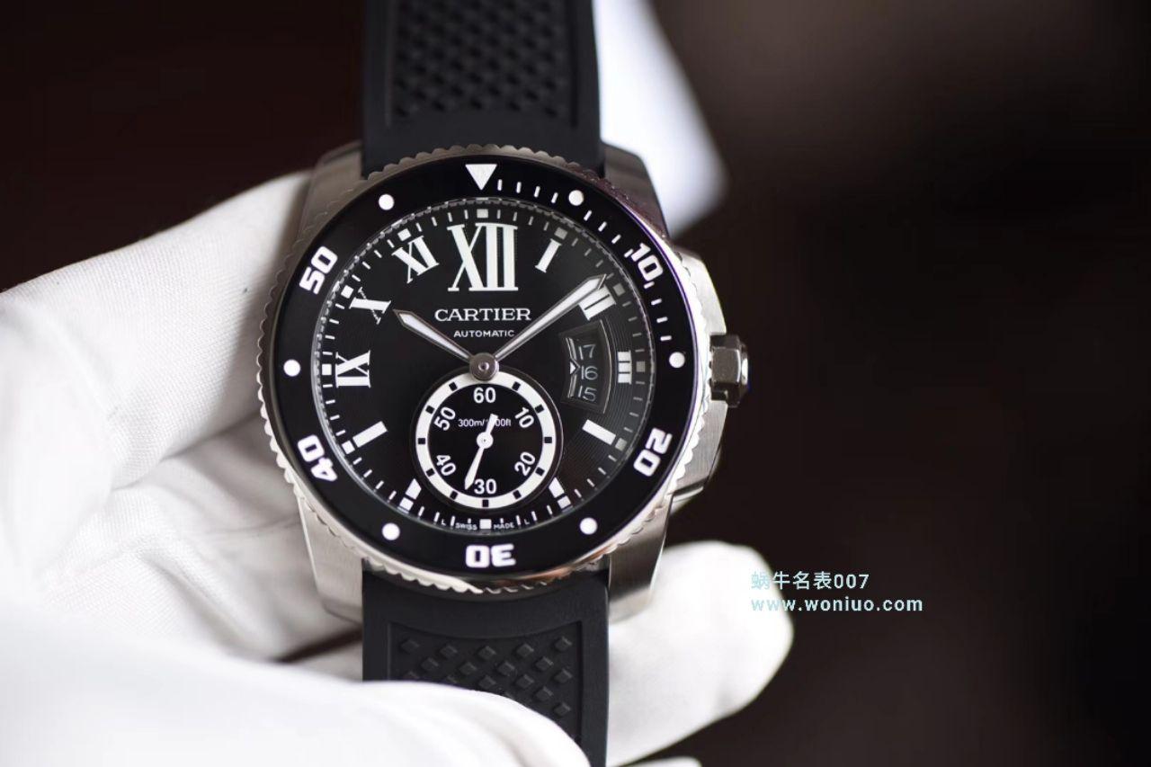 【JF一比一超A高仿手表】卡地亚卡历博/卡利博CALIBRE DE CARTIER 系列WSCA0011腕表 / KDY091