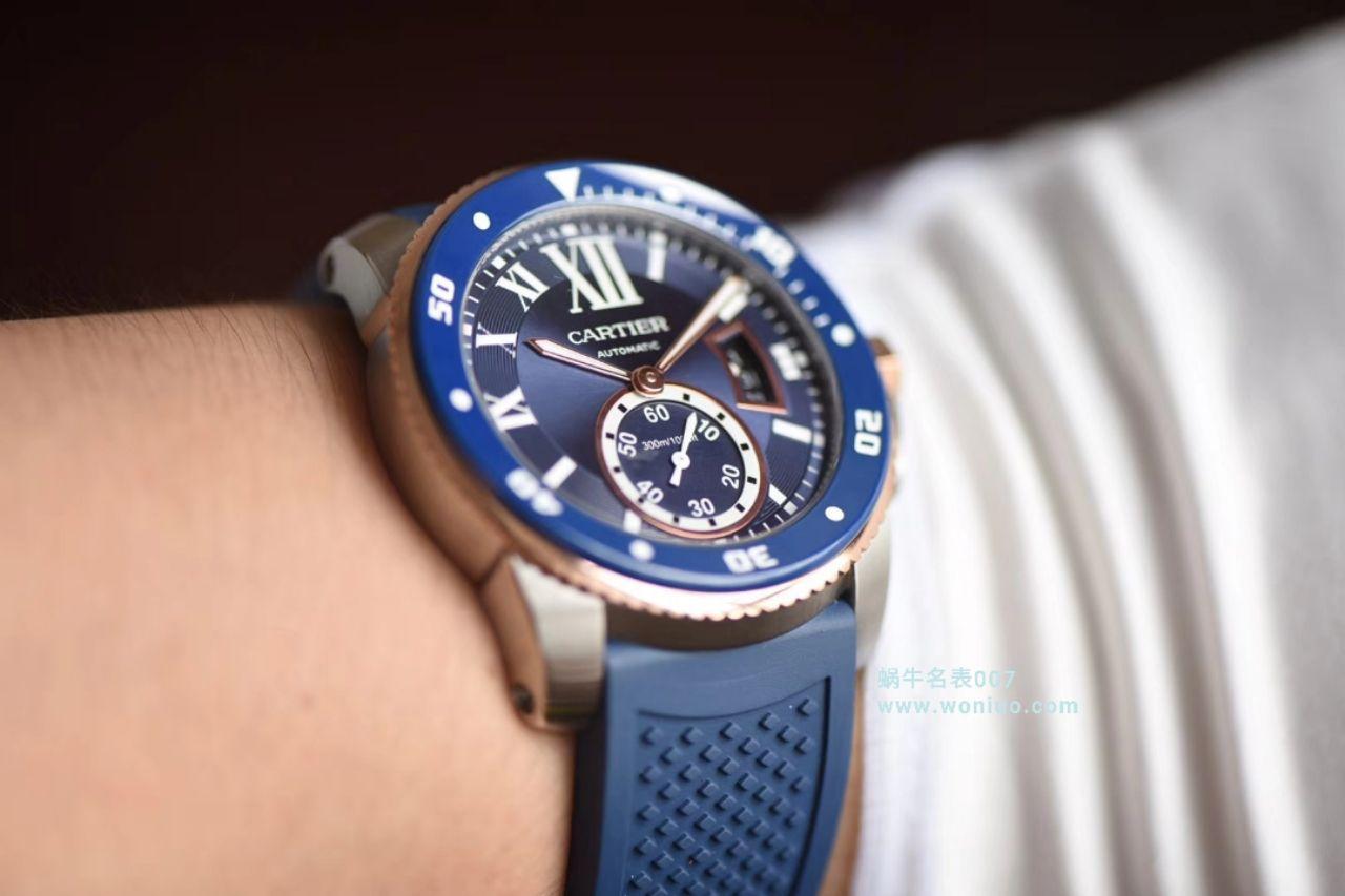 【JF厂超A高仿手表】卡地亚卡历博/卡利博CALIBRE DE CARTIER 系列W2CA0009腕表