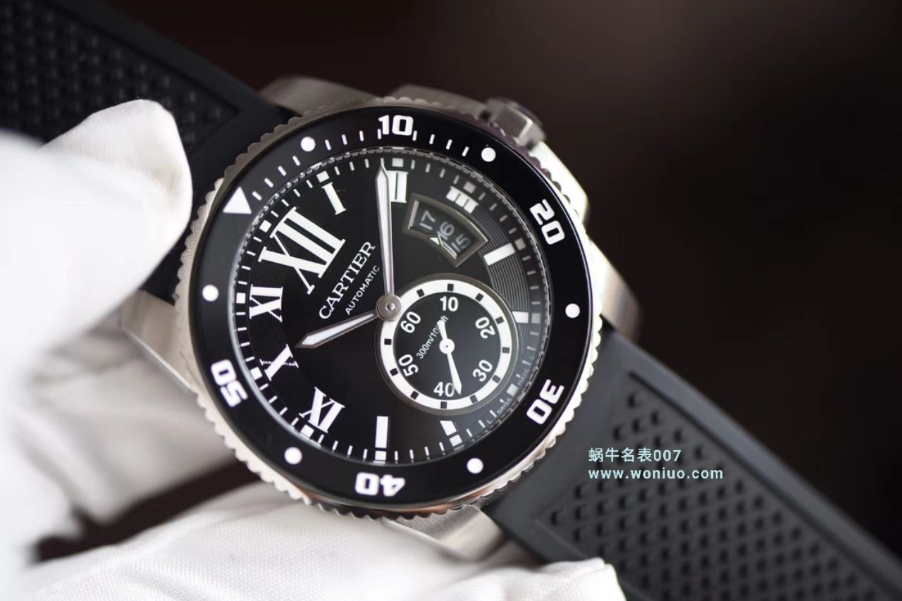 【 JF厂顶级复刻手表】卡地亚卡历博/卡利博CALIBRE DE CARTIER 系列WSCA0006腕表
