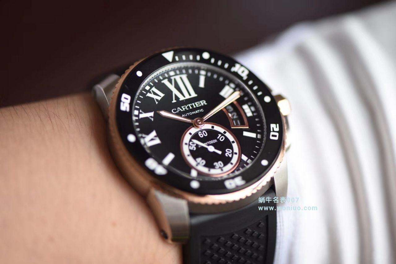 【JF厂一比一顶级复刻手表】卡地亚卡历博/卡利博CALIBRE DE CARTIER 系列W7100052腕表 / K075