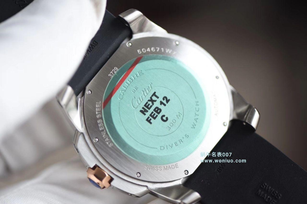 【JF厂一比一顶级复刻手表】卡地亚卡历博/卡利博CALIBRE DE CARTIER 系列W7100052腕表
