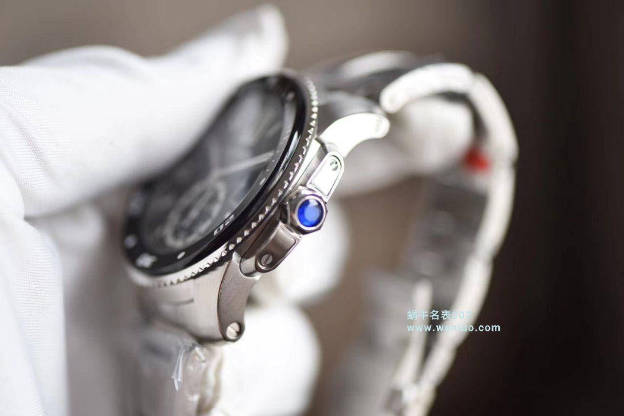 【JF厂一比一高仿手表】卡地亚卡历博/卡利博CALIBRE DE CARTIER 系列W7100057男表