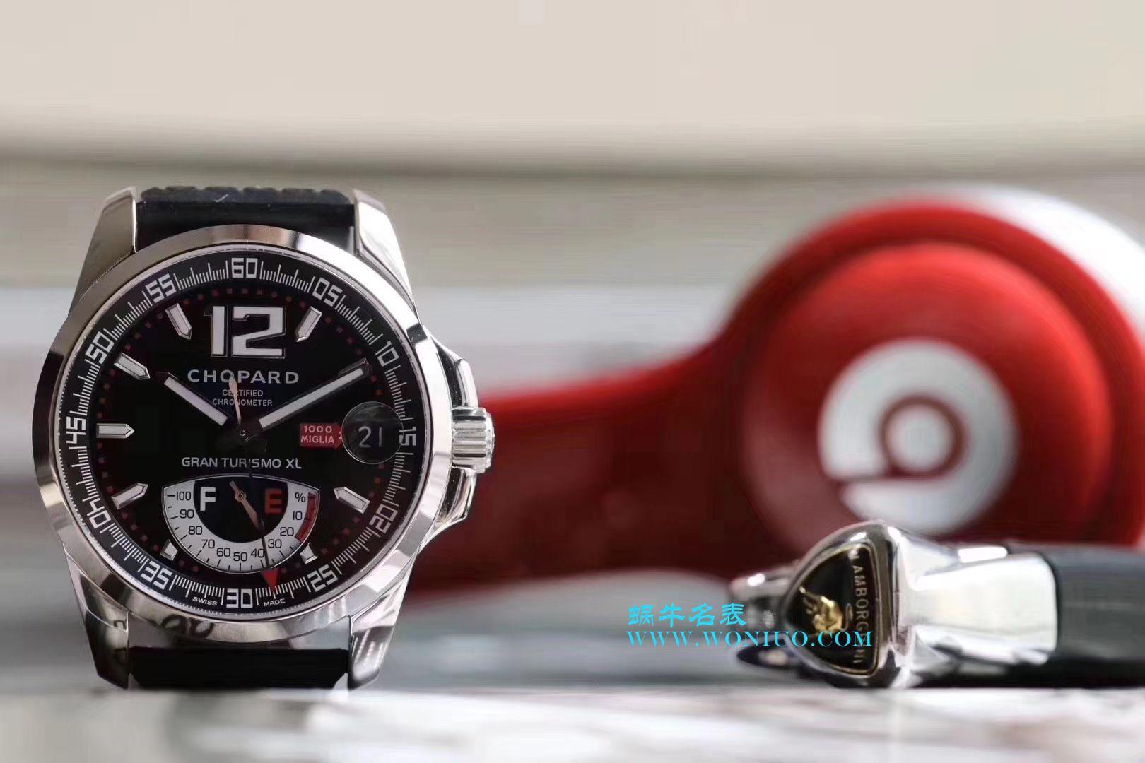 【台湾一比一超A高仿手表】萧邦经典赛车系列168457-3001腕表