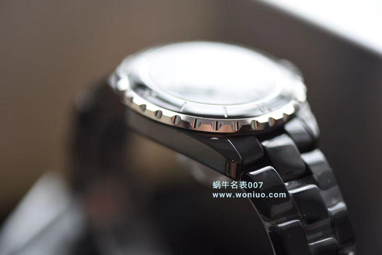 【独家视频评测】KOR韩版CHANEL J12香奈儿INTENSE 重置加强版38MM 男女中性机械腕表 / X029