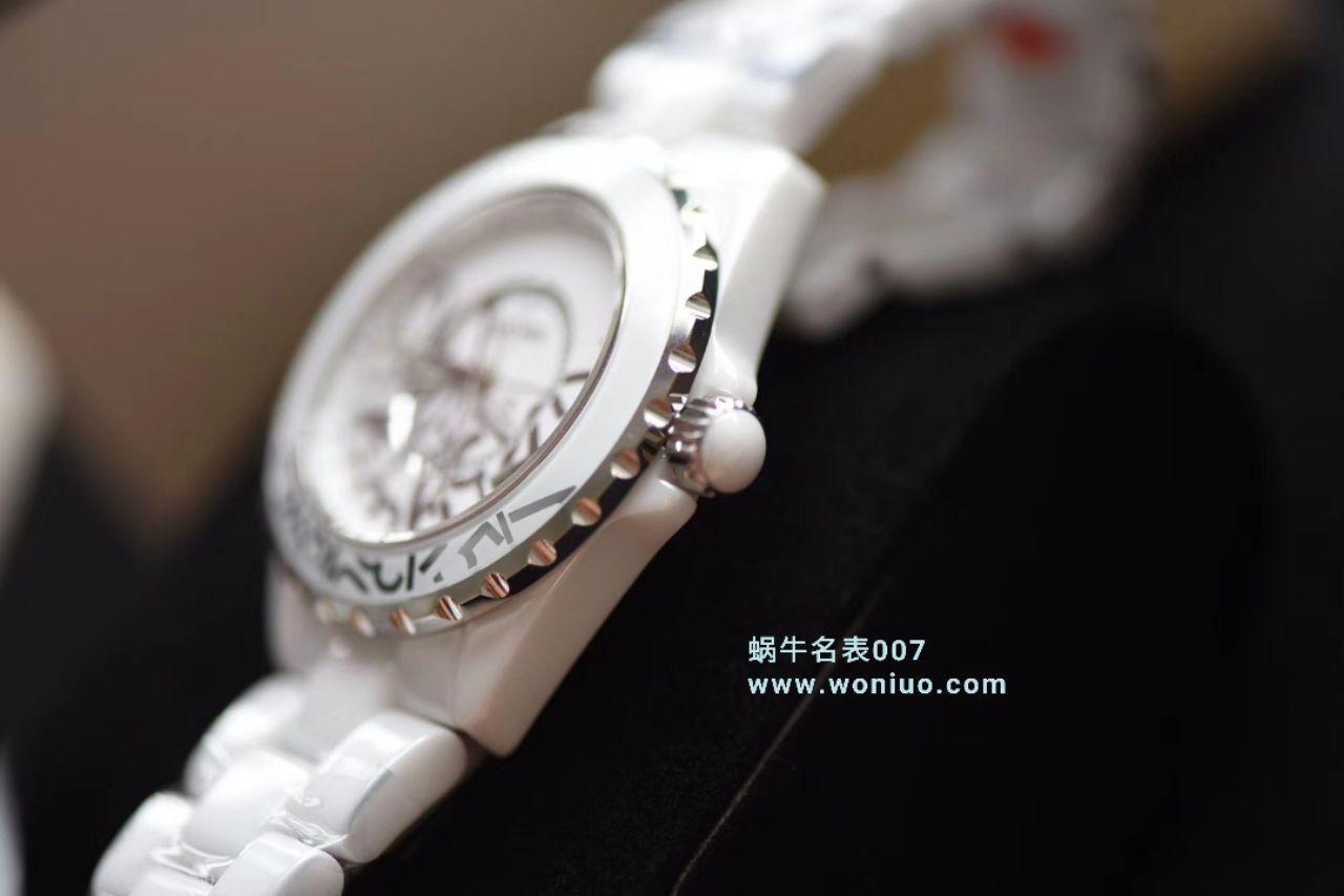 【独家视频评测】KOR韩版CHANEL J12香奈儿INTENSE 重置加强版38MM 男女中性机械腕表 / X031