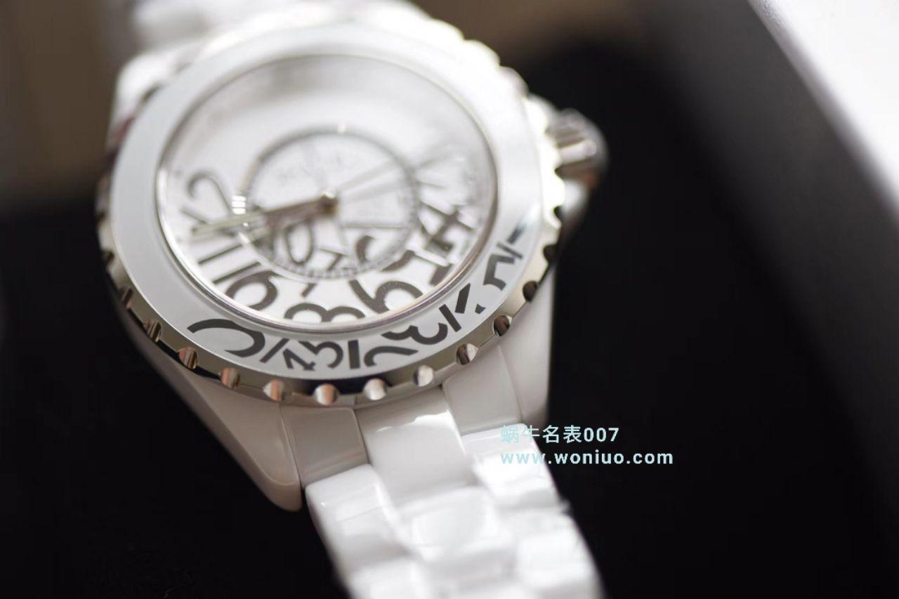 【独家视频评测】KOR韩版 香奈儿 J12香奈儿INTENSE 重置加强版38MM 男女中性机械腕表